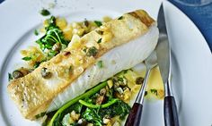 Halibut with chestnuts: Jason Atherton