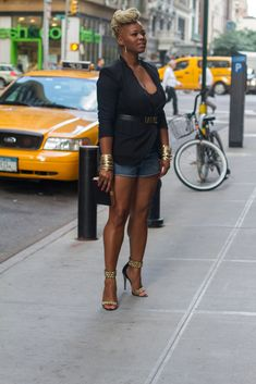New York Style Diary: A Moschino Bad Girl Belt and Brian Atwood Studded Abell Pumps - The Fashion Bomb Blog : Celebrity Fashion, Fashion New...