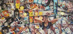 New oil painting for sale in our gallery! Discover thousands of original paintings prints sculptures and photography from Lithuanian artists! #art #original #originalart #unique #uniqueart #artforyou #artforthehome #artforhome #artforyourhome #nobarewalls #wallart #wallcoverings #interior #interiordesign #homeiswheretheartis #buyoriginalart #buyart #makeartwork #handmade #handcrafted #artforinstagram #artistsofinstagram #instaart Situacijų aš - ne laiku ir ne vietoje - 3 61500