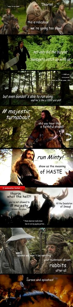 ebagginshield  Because Minty the Magnificent CAN outrun Shadowfax, she just didn't want ;)