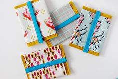 boy's sewing project: wallet  15 Sewing DIYs for the Absolute Beginner