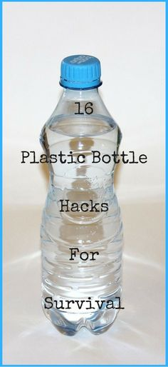 16 Plastic Bottle Hacks for Survival http://vid.staged.com/PZdt Photo: Pixabay