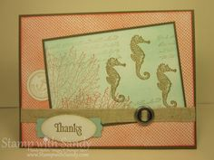Stamp With Sandy - By the Tide stamp set
