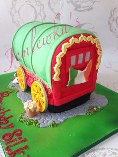 Gypsy wagon caravan