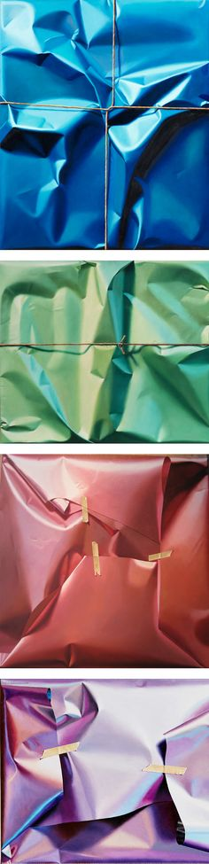 Hyperrealistic Oil Paintings of Haphazardly Wrapped Packages and Gifts by Yrjö Edelmann Painting Inspiration, Colour Inspiration, Colossal Art, Surrealism Painting, Textile Texture, Meet The Artist, Ap Art, Painting Lessons, Surreal Art