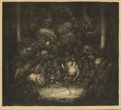 John Bauer ~ Root Trolls. 1917