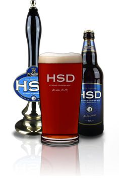 My favourite beer, HSD 'HICKS SPECIAL DRAUGHT' - 5.0% ABV  Brewed with plenty of malt and lashings of English Fuggles and Golding hops, HSD is a truly classic ale of considerable depth and complexity. Brewed by St Austell Brewery Cornwall
