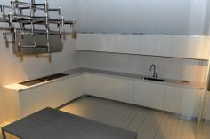 #Silestone Blanco Zeus Stand: RIFRA #Eurocucina #DesignWeek
