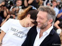 """Maïwenn -Le Besco- et Vincent Cassel - Photocall du film """"Mon Roi"""" lors du 68e Festival International du Film de Cannes, le 17 mai 2015."""