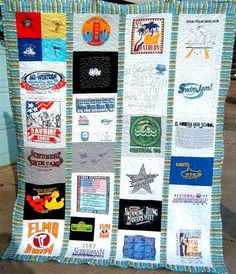 Brittany's T-Shirt Quilt