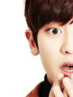 #exo #chanyeol #cute