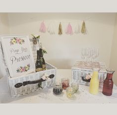 Stepping up your Prosecco game - celebrate in style with a 'Pimp Your Prosecco' station Sister Wedding, Party Bags, Prosecco, Party Supplies, Etsy Seller, Sisters, Place Card Holders, Game, Creative