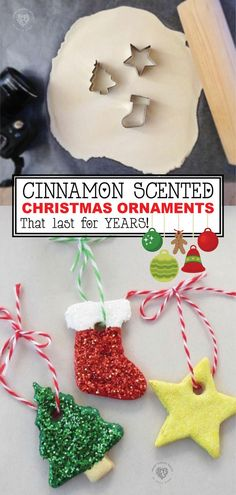 Cinnamon Scented Ornaments Do you love new Christmas ornaments? Are you looking for a unique decorations this holiday season? Try making these great Cinnamon Scented Ornaments. These ornaments are easy to make and fun. Kids Crafts, Holiday Crafts For Kids, Kids Diy, Decor Crafts, Kids Christmas Activities, Craft Kids, Family Crafts, Art Crafts, Kids Christmas Ornaments