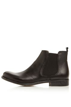 **Paddy D Leather Ankle Chelsea Boots by Dune