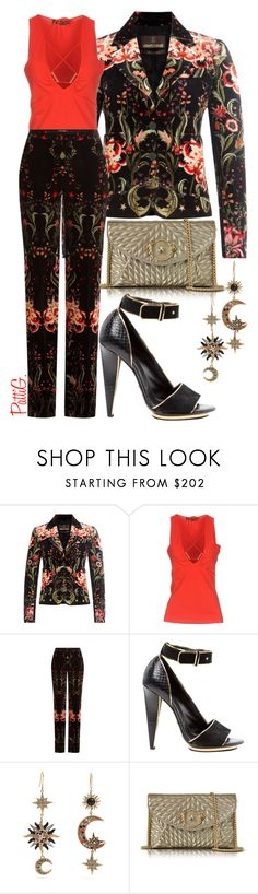 """ROBERTO CAVALLI TOTAL LOOK"" by patigshively ❤ liked on Polyvore featuring Roberto Cavalli"