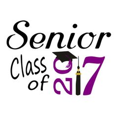 SVG - Senior class of 2017 - DXF - Senior 2017 - Senior - Back to School - First…