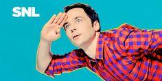 Jim Parsons | SNL Portraits by Photographer Mary Ellen Matthews #NBC #SNL