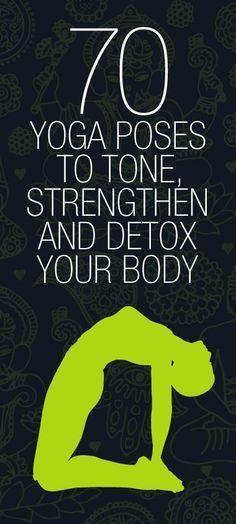 70 yoga poses to detox body