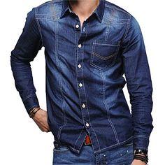 Partiss Mens British Stylish Denim Shirt,Large,Blue Partiss http://www.amazon.com/dp/B00U7B2KRI/ref=cm_sw_r_pi_dp_J0Ghvb1A3297X
