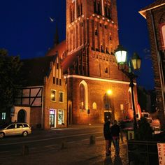 #gdansk #night #church