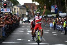Vasili Strokau wins stage 5 of the Tour de l'Avenir