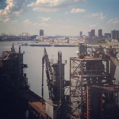 View from Creative Factory #rotterdam #port #cityscapes