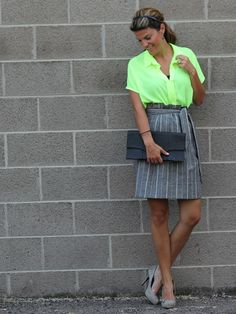 1b192dee6aae3 Women at Work: The Value of Dressing Professionally : Marionberry Style  Marionberry, Neon Top