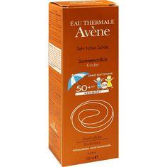 AVENE SunSitive Kinder Sonnenmilch SPF 50+:   Packungsinhalt: 100 ml Milch PZN: 05874577 Hersteller: PIERRE FABRE DERMO KOSMETIK GmbH…