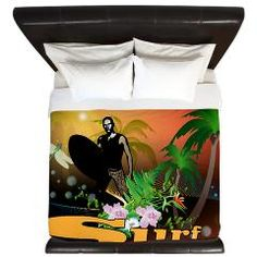 #Surfing, King #Duvet