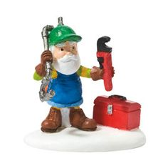 "Department 56: Products - ""Fixing Frozen Pipes"" - View Accessories"