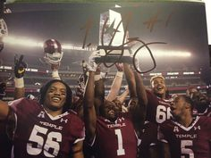 tavon young temple owls signed #autographed 8x10 #Football photo from $39.99
