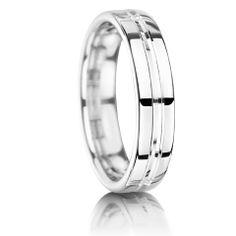 Palladium wedding rings €390-€650