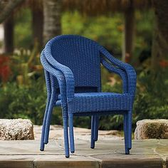 $299 Set of Two Cafe Stacking Arm Chairs