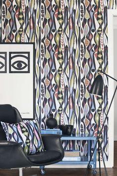 Коллекция обоев Scandinavian Designers от Boråstapeter в салонах «О-Дизайн».