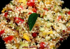 taboulé au Thermomix Cooking Quotes, Cooking Blogs, Barbecue Recipes, Couscous, Beignets, Fried Rice, Quinoa, Entrees, Veggies