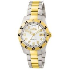 Invicta Men's 6693 II Collection 18k Gold-Plated and Stainless Steel White Dial Watch (Watch)  http://www.amazon.com/dp/B00336EDHY/?tag=iphonreplacem-20  B00336EDHY