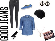 """""""Demin Style 3"""" by abri7929 on Polyvore"""
