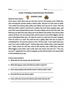 Grade Ela Worksheets in a learning moderate can be used to check pupils skills and understanding by answering questions. 3rd Grade Reading Comprehension Worksheets, Worksheets For Grade 3, English Grammar Worksheets, Reading Comprehension Passages, Comprehension Activities, Comprehension Exercises, Geography Worksheets, Homeschool Worksheets, Free Worksheets