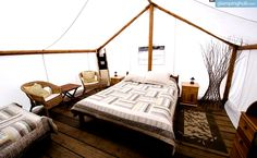 Luxury Tents Canada | Glamping Tents, Boston Bar, British Columbia. Pin curated by @Poppytalk for @explorecanada