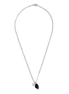 AAA Silver Look and Black Cluster Necklace* - Men's Jewelry - Shoes and Accessories - TOPMAN USA