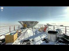 360 degree Panoramic Images of Antartica  #unusualtraveldestinations