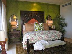 Hacienda - mediterranean - bedroom - by W e n d y   Z o l e z z i   D e s i g n
