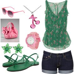 flying pass those summer days by jaddon on Polyvore