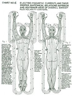 "lucifelle: "" Polarity Therapy Charts ""The Wireless Anatomy of Man"" Its neat to see this in chart form as we bring these concepts to life during massage. Chakra Meditation, Chakra Healing, Tantra, Spirit Science, Qigong, Holistic Healing, Massage Therapy, Jeff Andrews, Tai Chi"