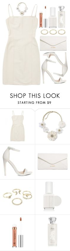"""""""Untitled #3994"""" by natalyasidunova ❤ liked on Polyvore featuring Hervé Léger, Mixit, ASOS, Vera Bradley, Lipsy and Essie"""