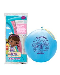 Pioneer National Latex Doc McStuffins Punch Balls, Set of 6 ** You can find more details by visiting the image link.