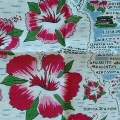 Check these 8 handkerchiefs out at Marzipanorama. Vintage Handkerchiefs, Red Color, Calendar, Lace, Floral, Check, Etsy, Souvenir, Flowers