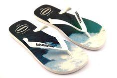 c500208b8c7 HAVAIANAS 4127920 6349 HYPE BIANCO Blu Azzurra Infradito Uomo Mare Surf Onda