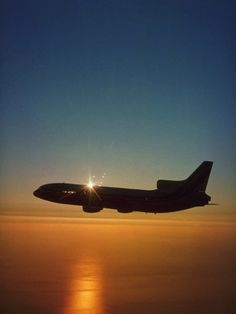 Delta Airlines Lockheed Tristar - Many a mile in the back of one of these.