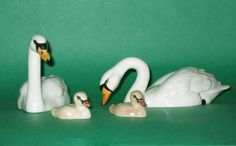 Beswick Swan Family